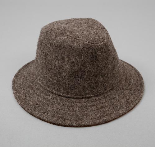 drap de bonneval mountain hat dark grey hickoree 39 s. Black Bedroom Furniture Sets. Home Design Ideas