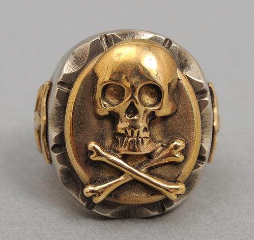 Skull Ring Hickoree S