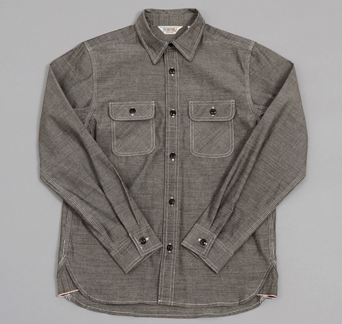 Heavy Chambray Work Shirt Black Hickoree 39 S