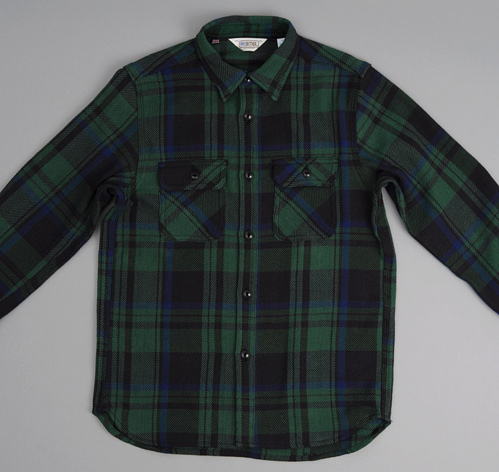 heavy flannel shirt black watch plaid hickoree 39 s