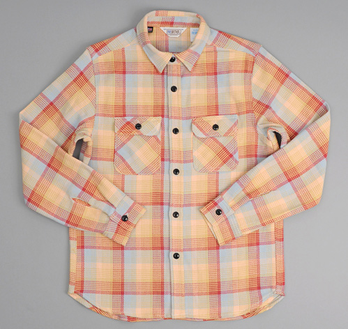 Heavy Flannel Shirt Light Blue Plaid Hickoree 39 S