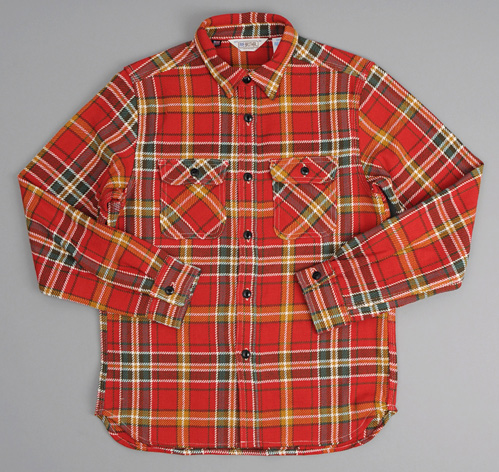 Heavy flannel shirt red plaid hickoree 39 s for Heavy plaid flannel shirt