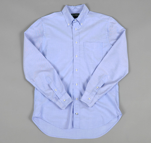 Blue Oxford Button Down Shirt | Artee Shirt