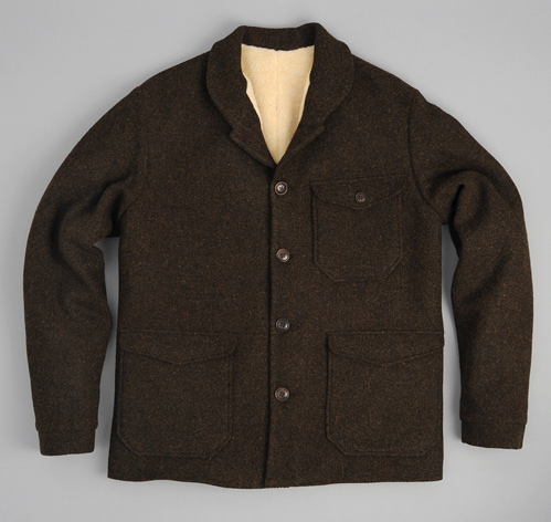 ANATOLE&quot WOOL JACKET BROWN :: HICKOREE&39S