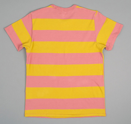 1960s Striped Tee Pink Yellow Hickoree 39 S