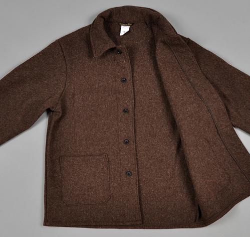 Brown Wool Jacket | Outdoor Jacket