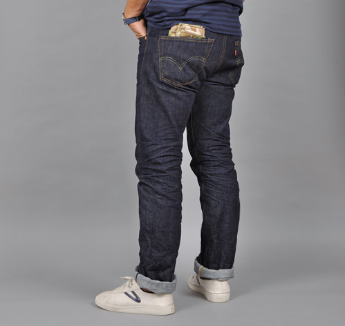 1947 501 Jeans Raw Denim Hickoree S