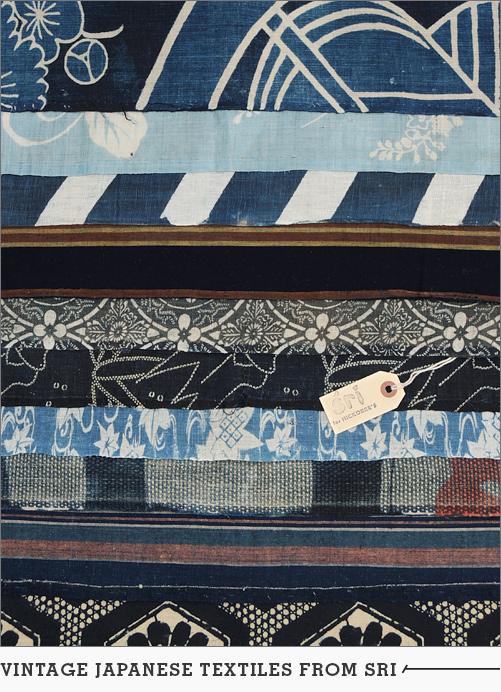 Vintage Japanese Textiles from Sri