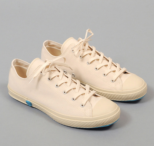 LOW TOP VULCANIZED SNEAKERS WHITE CANVAS  HICKOREEu0026#39;S