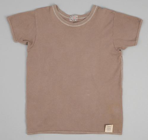 type 353 bound edge short sleeve t shirt logwood interlock jersey hickoree 39 s. Black Bedroom Furniture Sets. Home Design Ideas