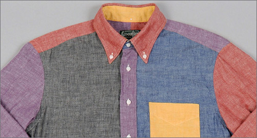 Gitman Brothers Multi-Chambray Fun Shirt
