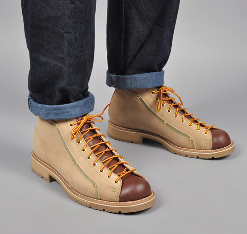 Roofer Boot 633 Tan Amp Brown Hickoree S